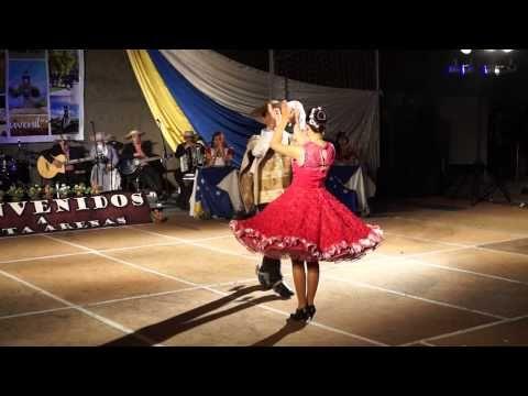 campeones nacionales de cueca juvenil 2013 - YouTube