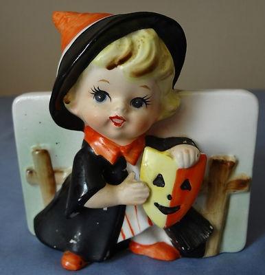 Retro/Vintage Halloween Planter