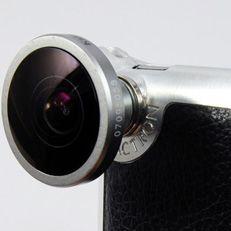 Para melhorar as fotos do iPhone: lente objetiva acoplável