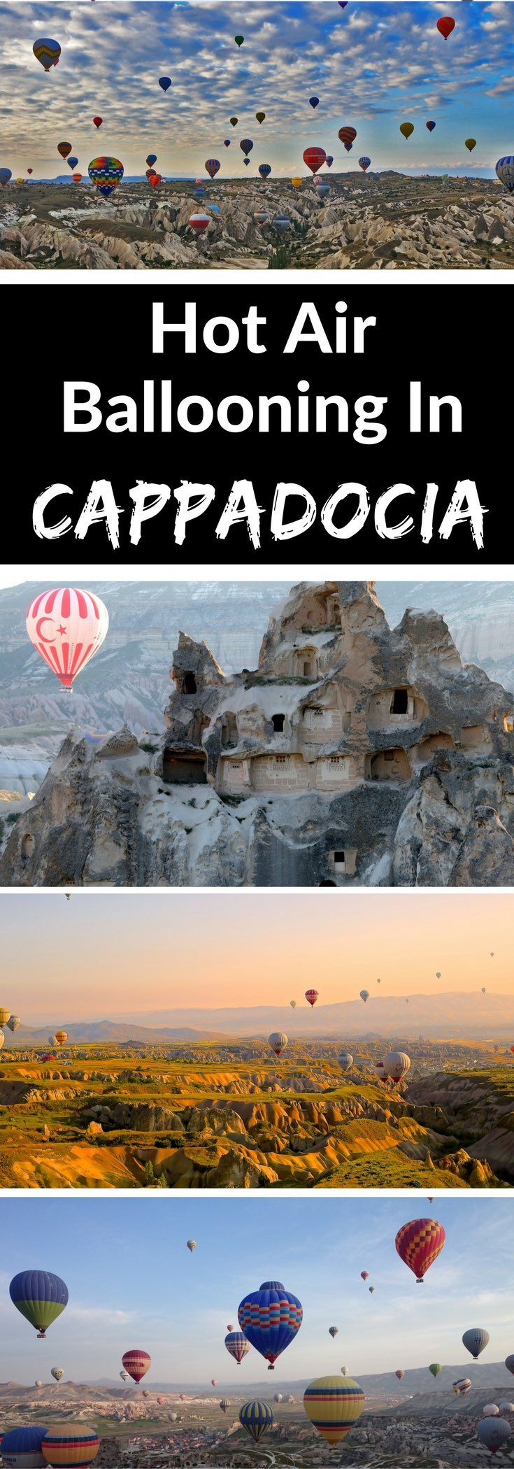 Hot Air Ballooning In Cappadocia. Hot air ballooning in Cappadocia is top of many people's bucket lists – and it's not hard to see why!