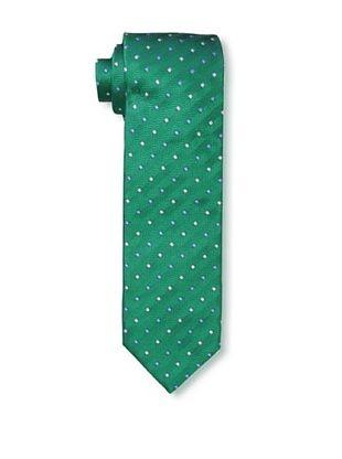 61% OFF Massimo Bizzocchi Men's Square Dots Tie, Green