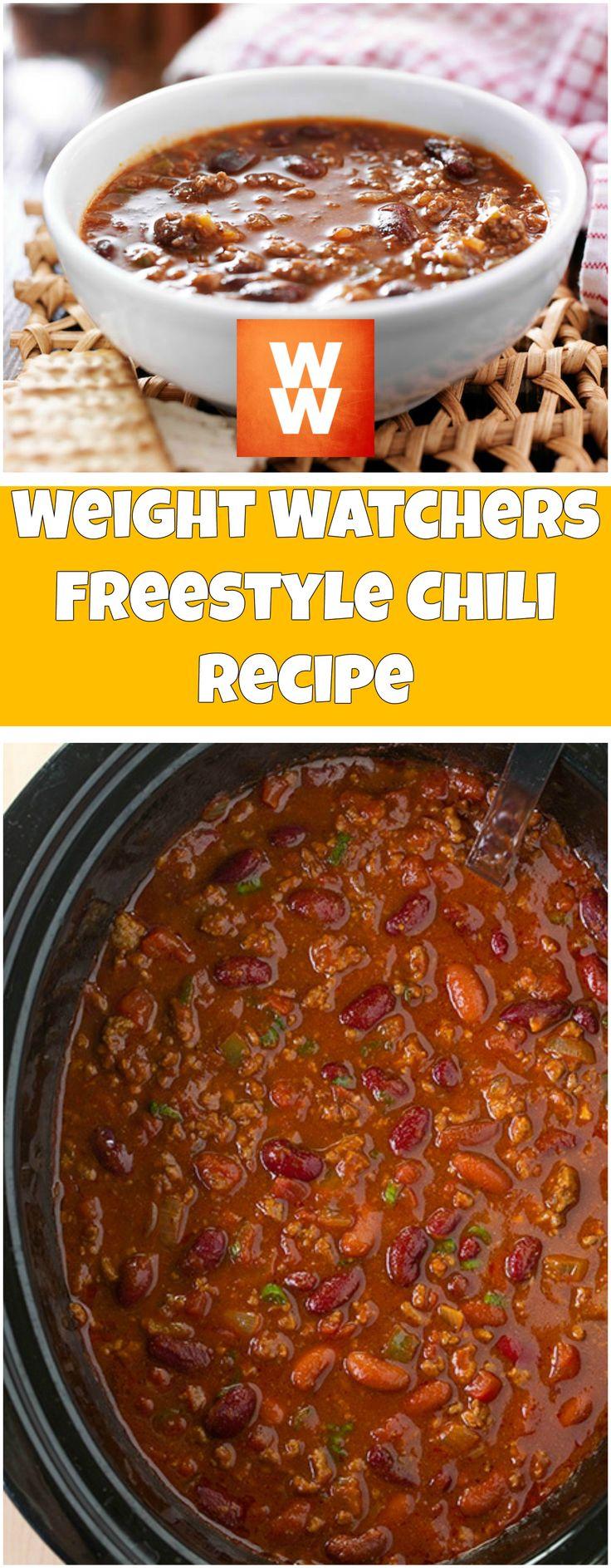 Weight Watchers Freestyle Chili Recipe | weight watchers cooking