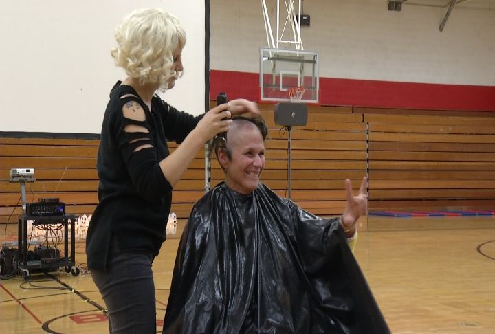 Big Rapids Principal Shaves Head For Cancer Fundraiser