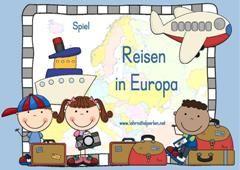 Spiel 4.-6. Klasse: Sehenswürdigkeiten in Europa