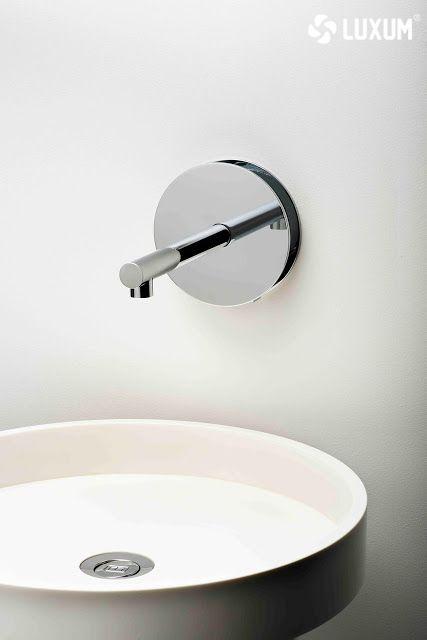 Modern, round washbasin. You can order here -------- www.luxum.pl.  #washbasin #luxum #bathroom #bathroomidea #luxurywashabasin #design #designwashbasin #washbasinidea #modernwashbasin #whitebathroom #bathroomdesign #luxurysink #sink #designsink