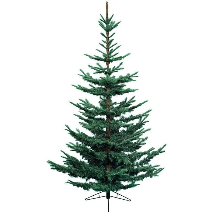 <p>The Nobilis Fir Christmas Tree captures the beauty of a natural woodland tree. It has been designed to look realistic as possible with upwards facing branches and greater spacing between branches than is on most artificial trees. It is enhanced by realistic blue tinted branches, whilst the mix of 'real' and soft needles gives fullness.</p>