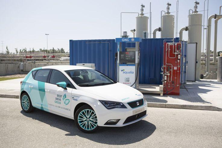#SEAT et #Aqualia s'associent pour transformer les #EauxUsées en #biocarburant #durable #biogaz #biométhane