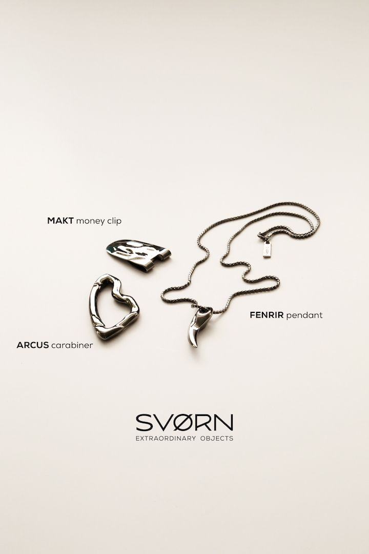 """Just because we use something every day, doesn't mean it should look everyday."" Discover SVØRN //#mensjewelry #carabiner #pendant #keychain #keychains #moneyclip #dapper #suitaccessories #mensaccessories #mensstyle #menstyle #urbanstyle #streetstyle #streetwear #mensgoods #mensfashion #menfashion #pocket #edc #edcgear #edcdump #pocketdump #everydaycarry #giftsforhim #giftforhim #mensgifts #giftsformen #carry #mensfashion"