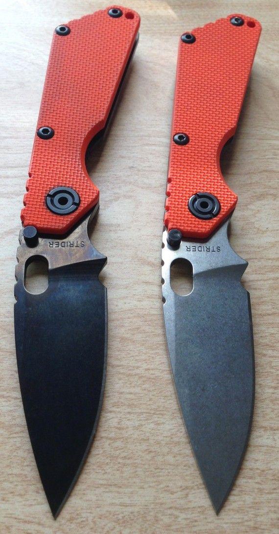 Strider knives from Knife Thursday