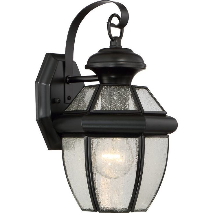 "Quoizel NY8407 Newbury Outdoor 1 Light 12.5"" Tall Outdoor Wall Sconce"
