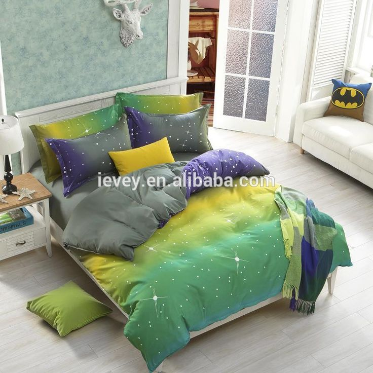 new arrival quality polyester pear apple yellow queen twin full bedding bed sheet set bedclothes duvet cover set bedding set - Queen Size Duvet Cover