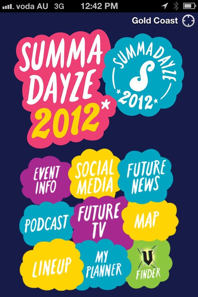 Summadayze 2011/2012 iPhone / Android App *No 1 Free Music App *Top 25 Free Chart Topper @futureentaus