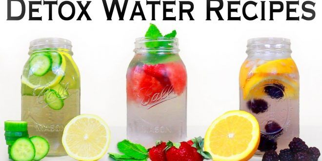 These detox waters are just amazing for weight loss, burning belly fat, detox and also have great health benefits too!  #DetoxWater #WeightLoss #LoseWeight