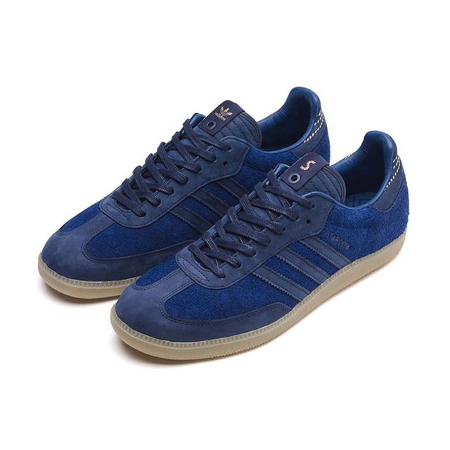 adidas samba shoes blue