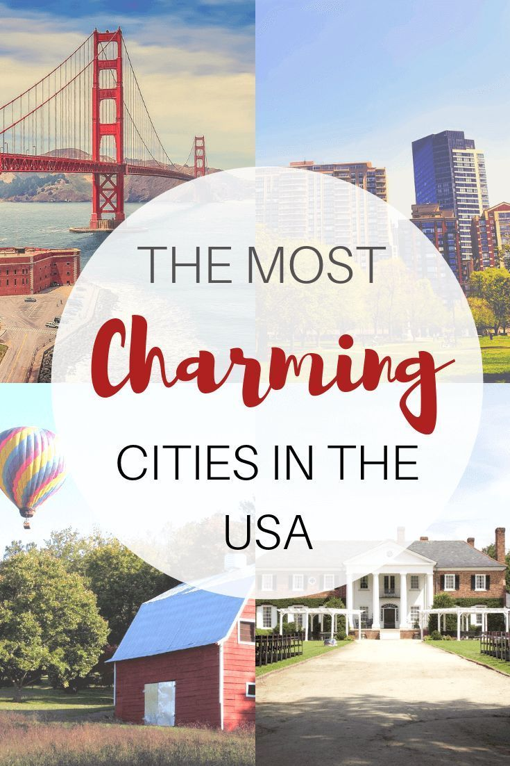 Top Charming Cities For A Romantic Getaway In The USA