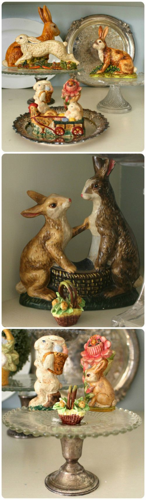 Easter Decorating ideas plus lots of vintage and antiques for sale online at Vintage American Home
