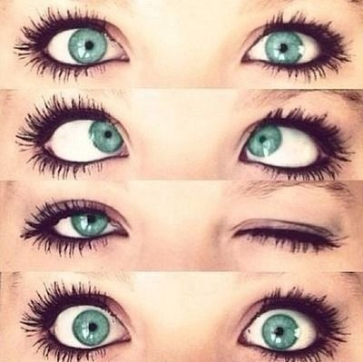 I love the color of her eyes!
