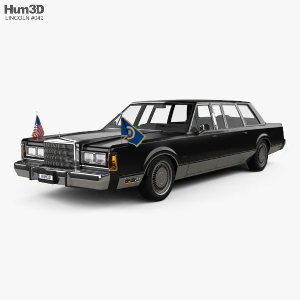 Pin By Pro 3d Models On Favorite Cars Lincoln Town Car Limousine Car