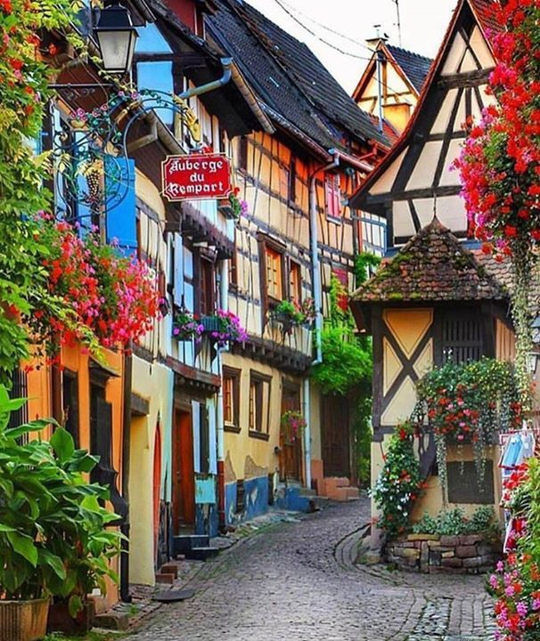 Colmar Alsace, another colorful place to see, agree?