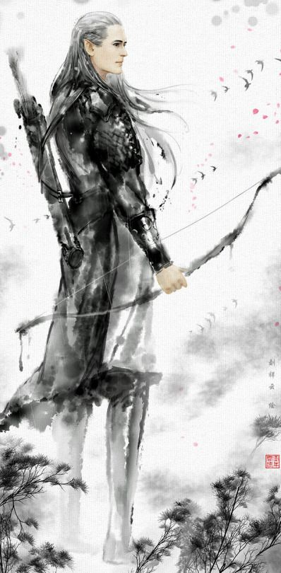 Legolas yes...but could be another great warrior...