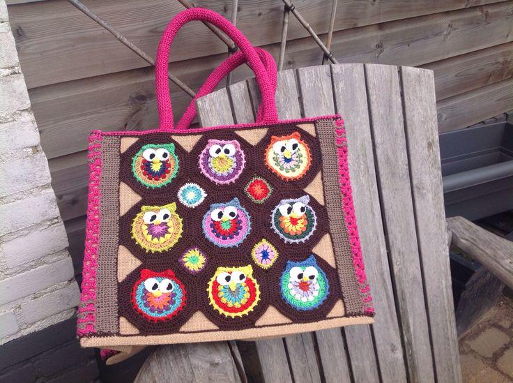 AH-tas owl crochet