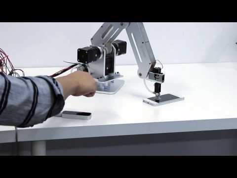Dobot, un brazo robótico de alta precisión y bajo costo - http://www.actualidadgadget.com/dobot-un-brazo-robotico-de-alta-precision-y-bajo-costo/