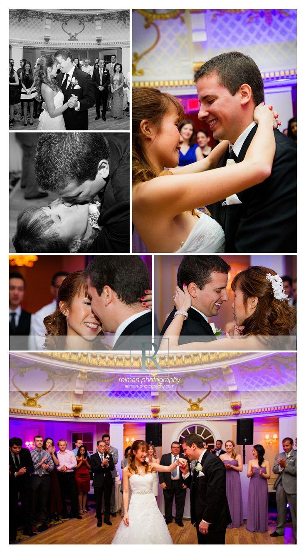 Elegant #Wedding at the #Lenox Hotel #purple #March