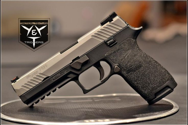 Specializing in Custom Glock Stippling & Glock Grip Reductions, M&P Stippling, VP9 Stippling, Sig P320 Stippling and Glock Trigger Kits with a Super-Fast 2 Week Turnaround Time!