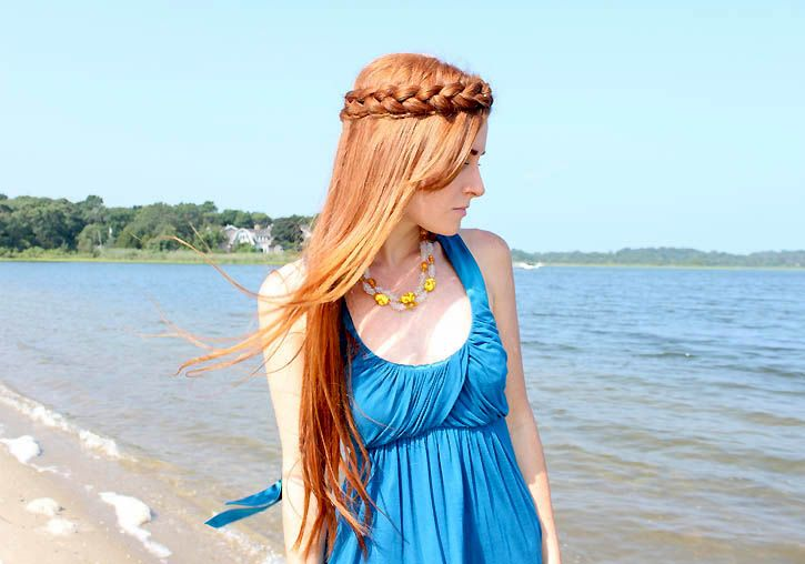 Gina Michele: crown braid tutorial