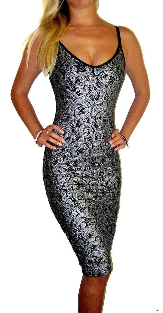 c17bbf94ffa Womens Ladies UK Evening Party Wedding Long Lace Pencil Dress Black Size 16  L  fashion  clothing  shoes  accessories  womensclothing  dresses (ebay link )