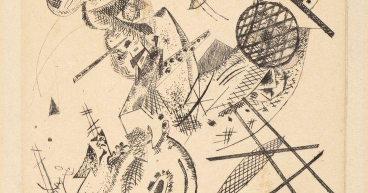 Vasily Kandinsky, Kleine Welten XII (Small Worlds XII), from the portfolio Kleine Welten, 1922 · SFMOMA