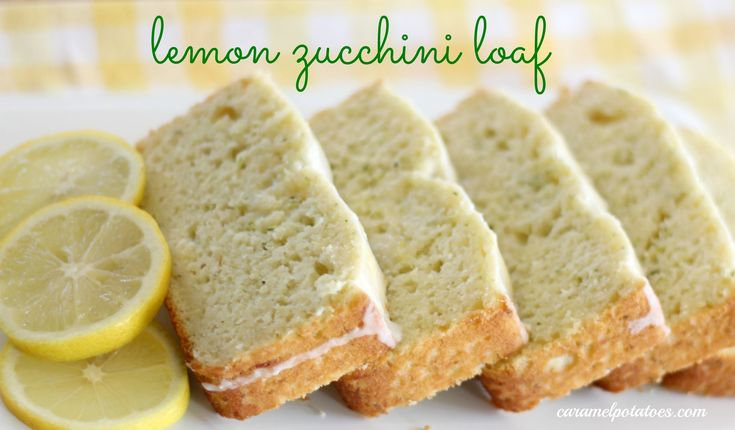 Lemon Zucchini Loaf - What a delicious way to eat your veggies!