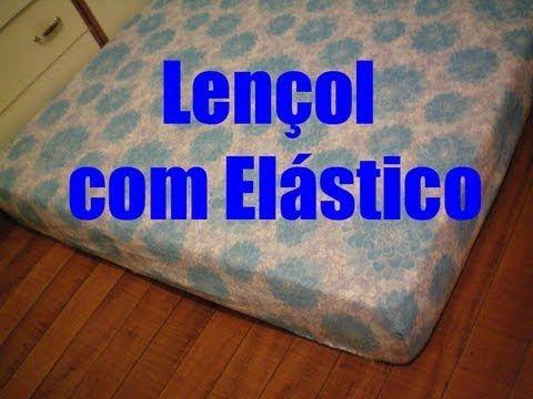 ▶ Lençol com Elástico/ Protetor de Colchão - Muito Fácil de Fazer - YouTube
