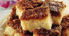 Droomkoek, Deense cake met kokoslaag!  Het Deense Drommekage is in het Nederlands verbasterd tot Drammenhage.   Ingrediënten :   voor de b...
