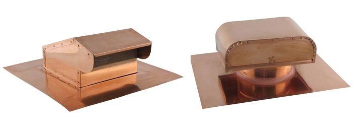 Copper Roof Vents Copper Wall Vents Copper Chimney Caps Gable Vents Copper Vent Caps Buy Online At Famco In 2019 Copper Roof Roof Vents Gable Ven