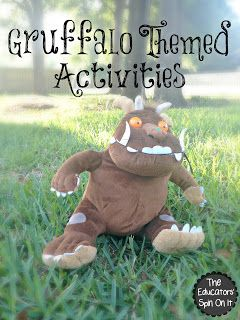 The Gruffalo Themed Activities from The Educators' Spin On It
