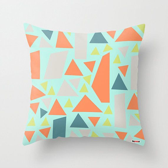Decorative throw pillow cover  Pillows for couch  by thegretest, $55.00