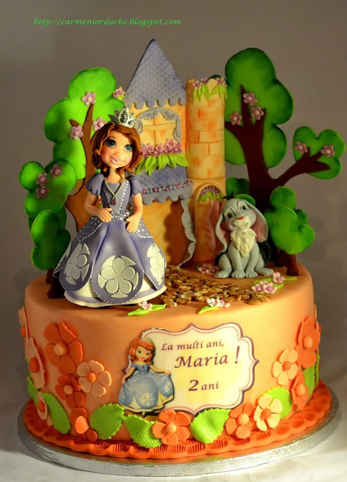 Best 25 Princess sofia cake ideas