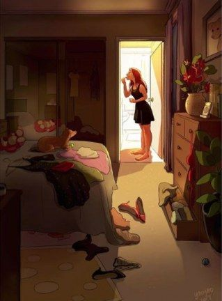 Von Einsamkeit keine Spur: Illustrationen zeigen die schönen Seiten des Alleinseins – Mariana Alegria g