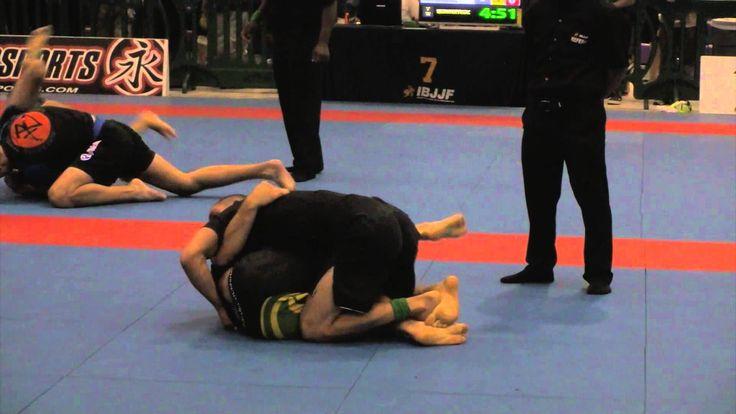 Garry Tonon (Renzo Gracie) vs. AJ Agazarm (Gracie Barra) 2014 IBJJF No-Gi Pan Jiu Jitsu Championships Men's Black Belt Lightweight Semi-Finals