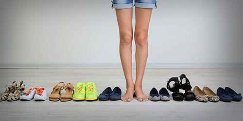обувь сколько нужно