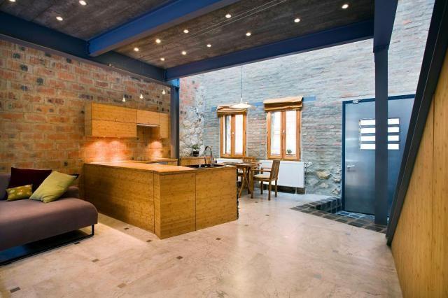 Pécsi loft lakás