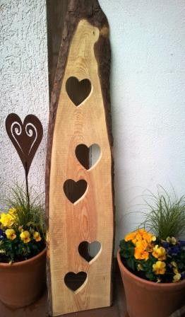 Balkon - Gartenstele - ein Designerstück von VrONi4you bei DaWanda