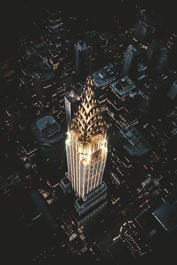 Chrysler Building by Jude Allen #newyorkcityfeelings #nyc #newyork