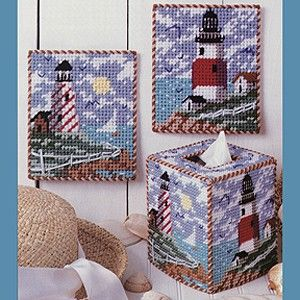 Leisure Arts - Alluring Lighthouses Plastic Canvas Patterns ePattern, $2.99 (http://www.leisurearts.com/products/alluring-lighthouses-plastic-canvas-patterns-digital-download.html)