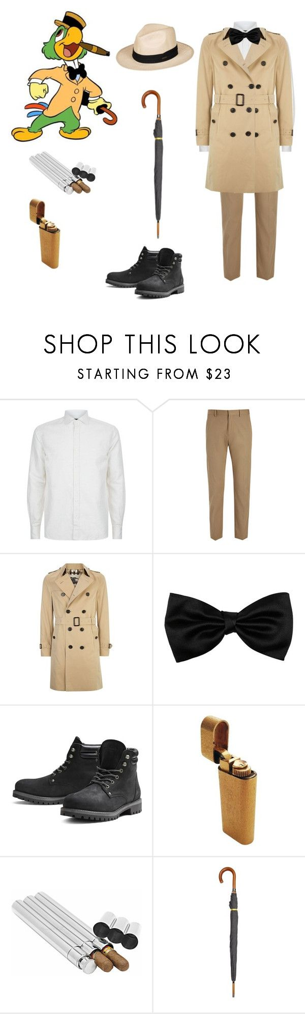 """""""inspired by three campaneros"""" by kaitis ❤ liked on Polyvore featuring Corneliani, Joseph, Burberry, Jack & Jones, London Undercover and Roxy"""