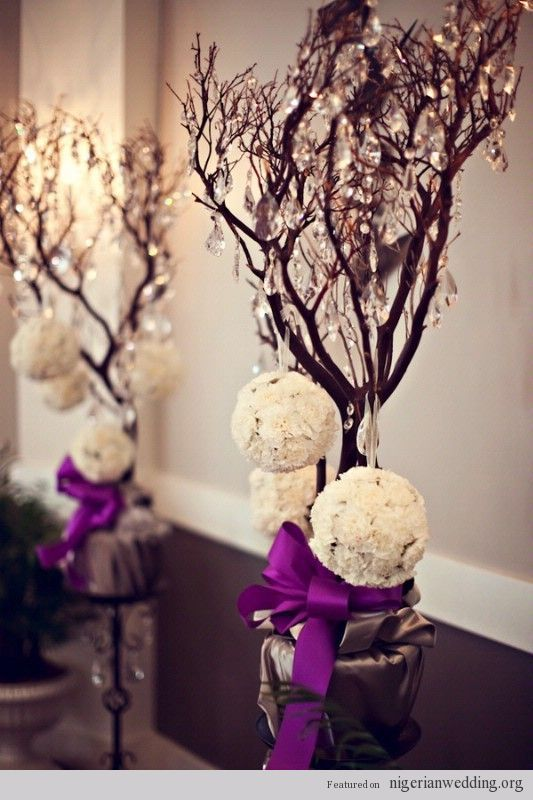 Nigerian wedding centerpiece ideas 29