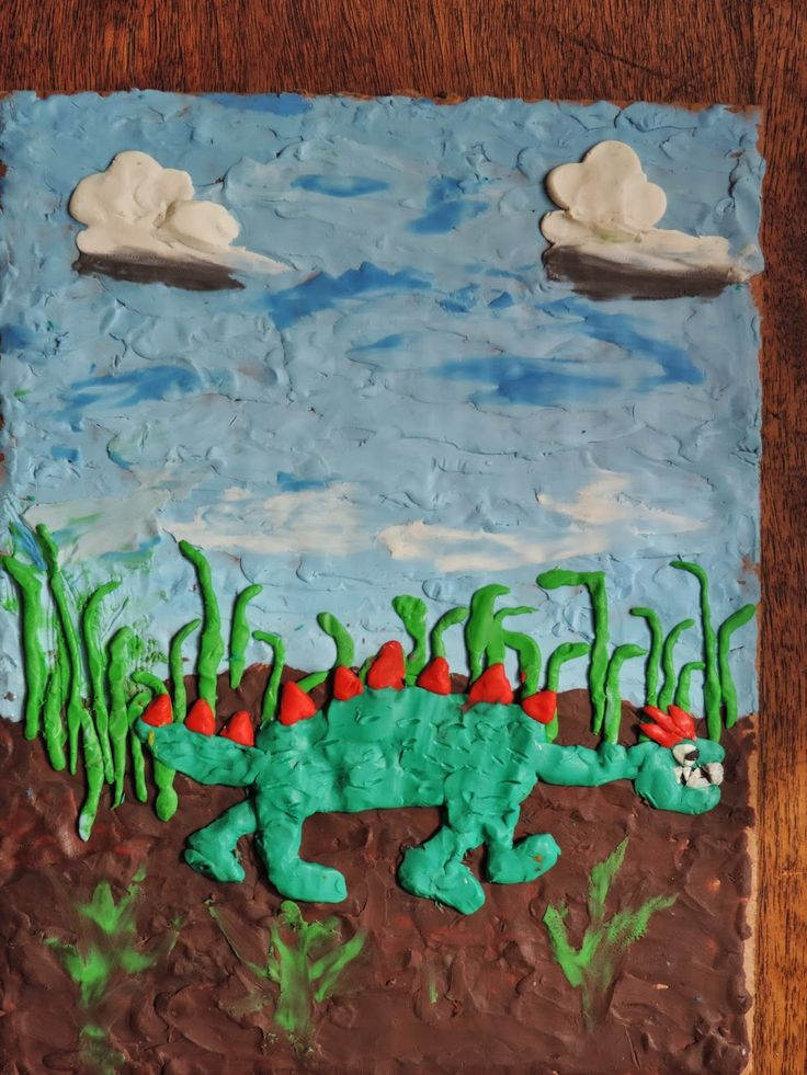 Olivet School: Plasticine Art