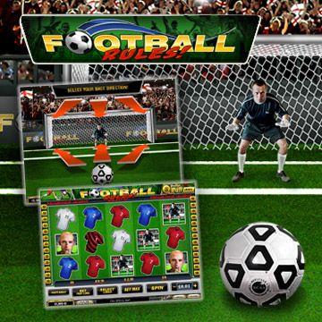 "Newtown Casino Free Football Slot Game ""Football Rules"" GOAL!!!!! http://newtown-casino.com/"