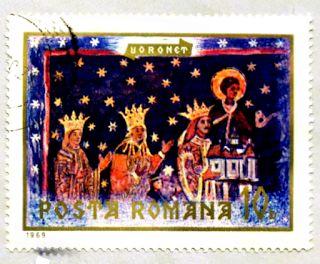 Frohe Weihnachten: Zitat Charles Dickens, Weihnachtsbriefmarke #Weihnachtsbriefmarke #Dreikönige  #Weihnachten